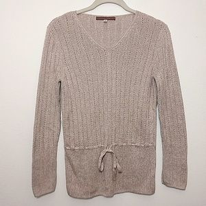 Peruvian Connection | Light Brown Sweater - XS